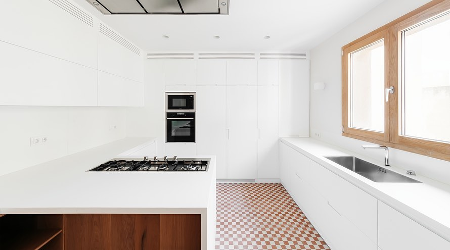 campana extractora cocina de diseño