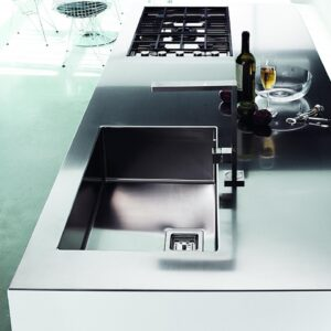Elegir fregadero cocina moderna
