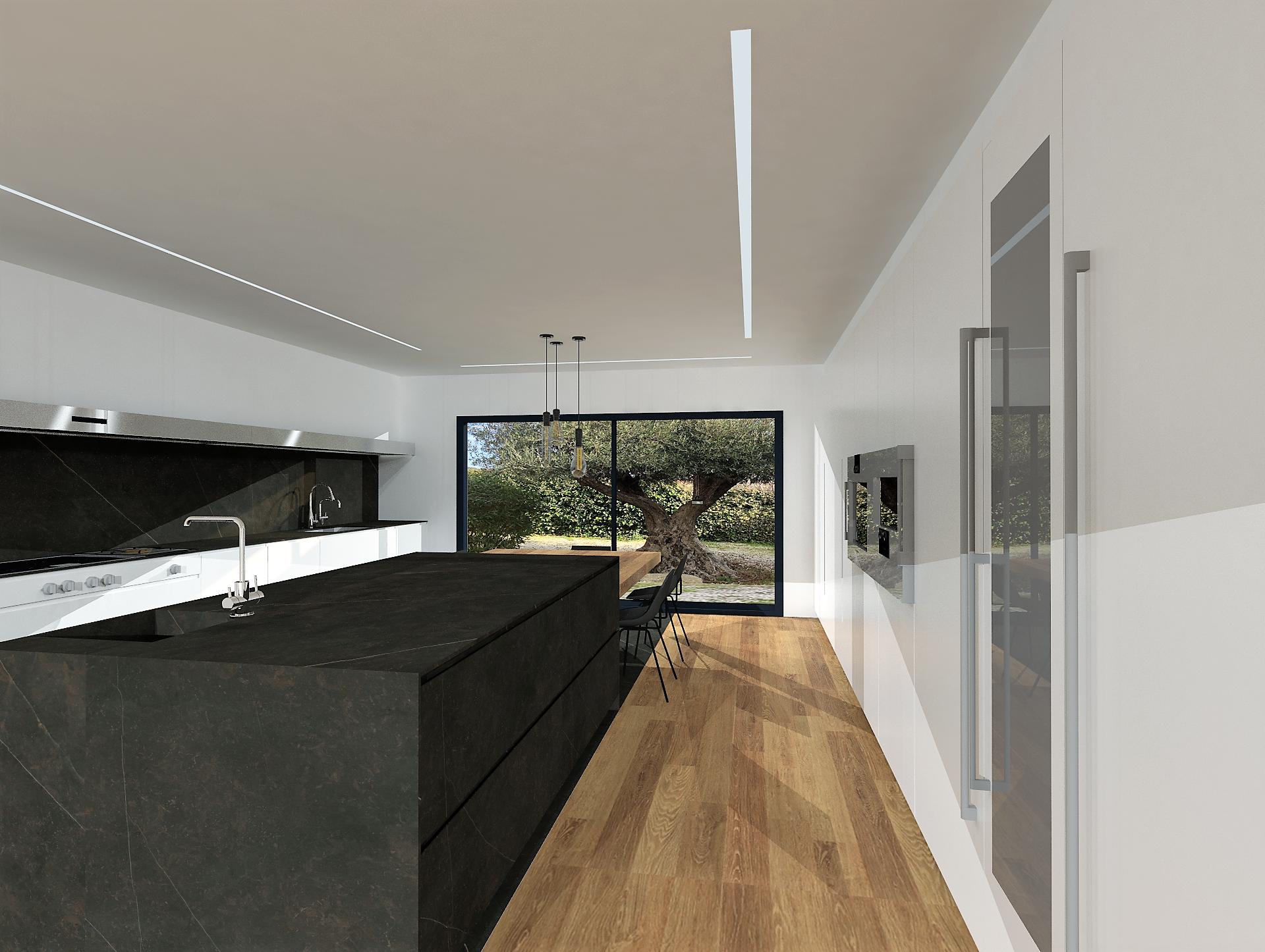 Proyecto 1 con muebles de cocina Auró Kitchens