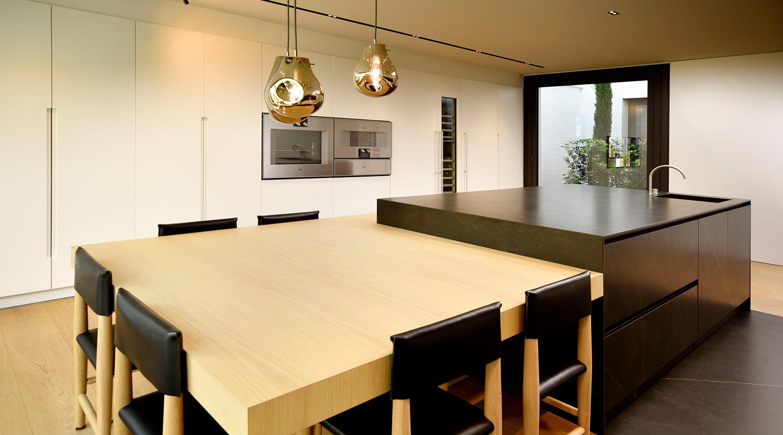 Zona de columnas cocinas de diseño
